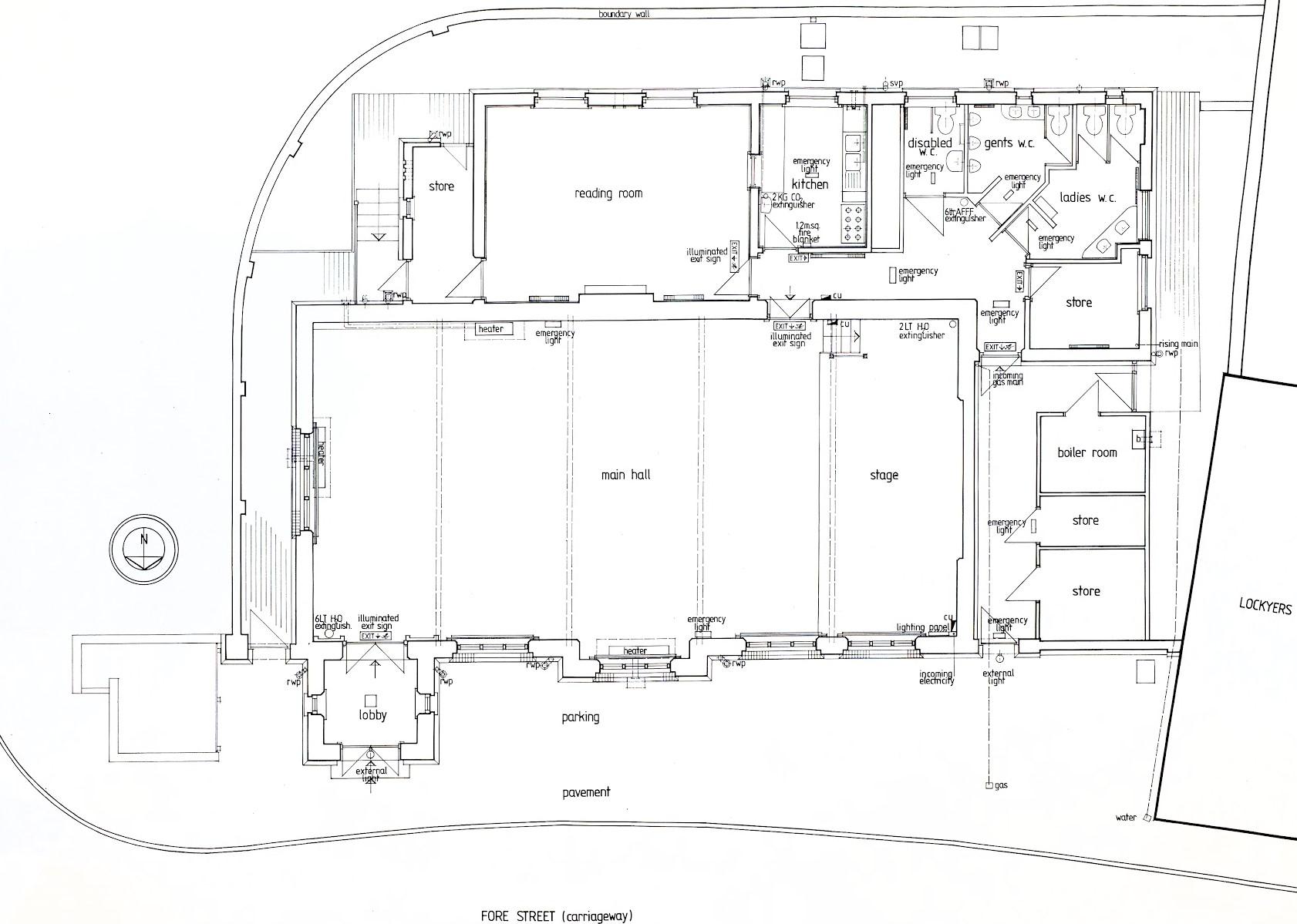 Victoria Rooms floor plan