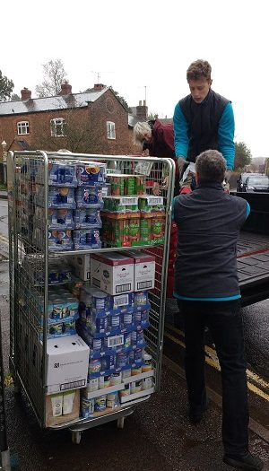 Food for the Taunton Foodbank