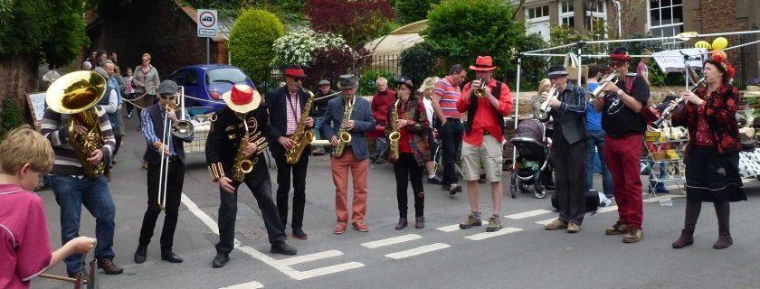 Street fair music band