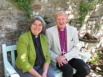 Bishop Ruth and Bishop Peter