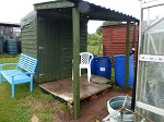 New shed with veranda