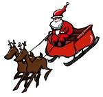 Father Christmas sleigh tour